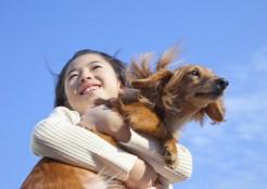 女の子と犬 12-04-03
