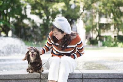 愛犬と散歩 12-08-03