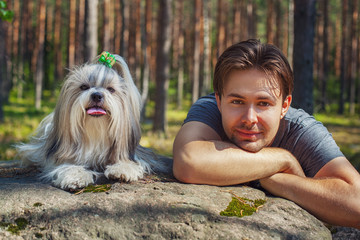 犬と仲良く一緒 05-19-02